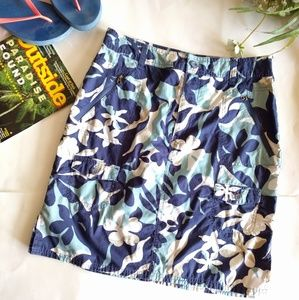 {Columbia} floral A-line skirt